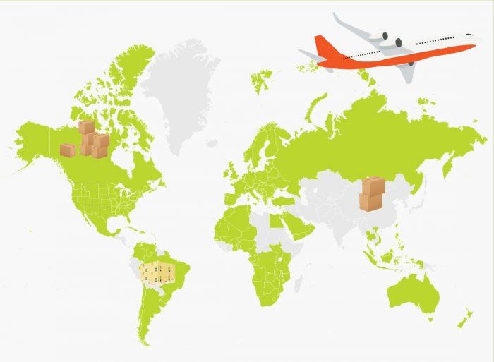Envoi international