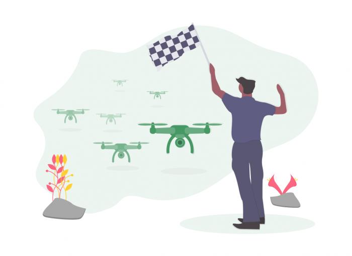 Undraw Drone Race 0sim